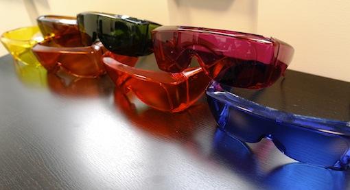 lunettes contrastes confort visuel