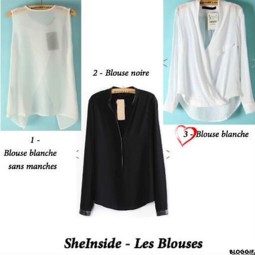 blouses sheinside