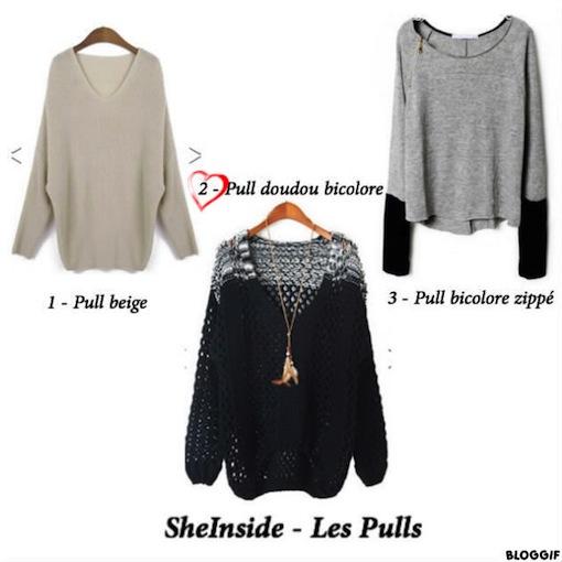 sheinside pulls