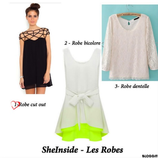 sheinside robes