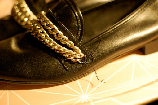 diy mocassins chaines 6