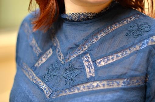 blouse kiabi dentelle