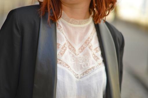 blouse blanche dentelle kiabi blog mode